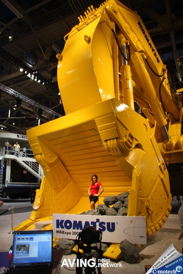 Epa Stands For >> Komatsu America to present its hydraulic shovel 'PC5500'