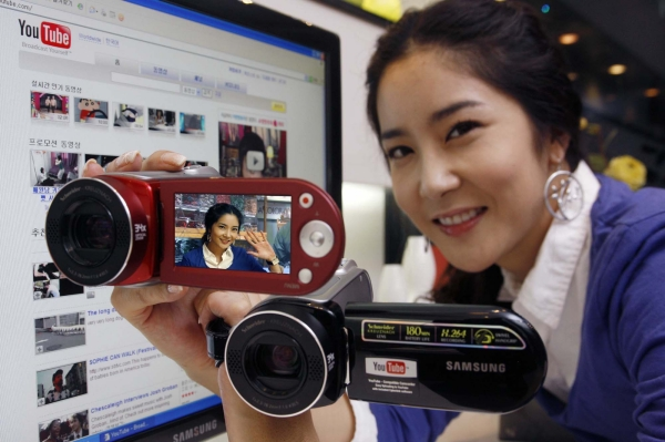 Samsung to launch its new UCC camcorder