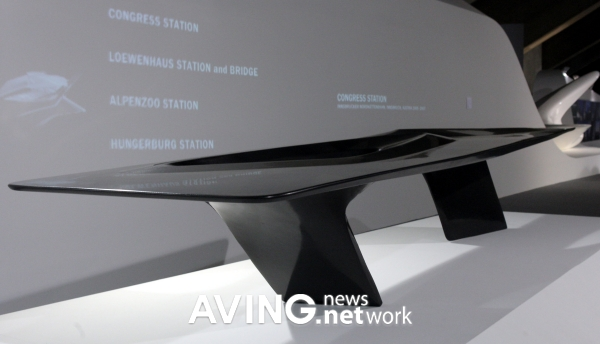 Picture seoul table 2008 for Mesa table design by zaha hadid for vitra